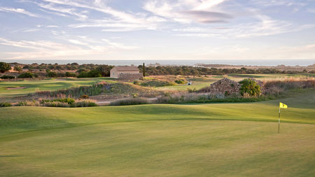 Overview of golf course named Donnafugata Golf Resort and Spa - Links Course