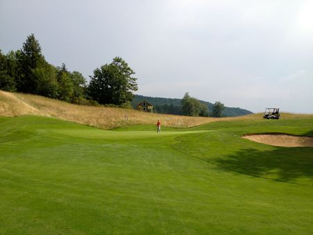 Overview of golf course named Okemo Valley Golf Club