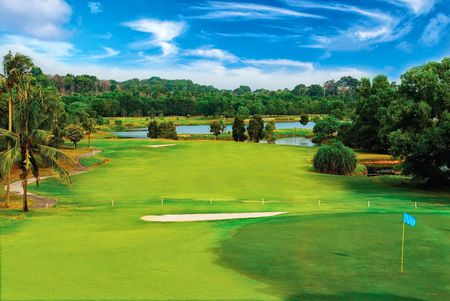 Overview of golf course named Laguna Bintan Golf Club