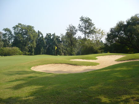 Overview of golf course named Tollygunge Club