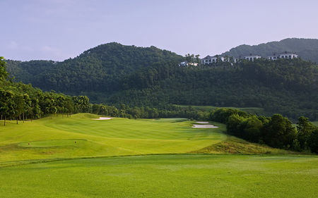 Overview of golf course named Duval Course at Mission Hills Shenzhen