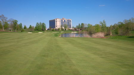 Overview of golf course named Belterra Casino Golf Club