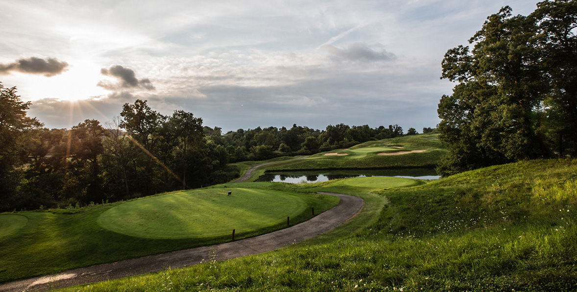 Amana colonies golf course cover picture