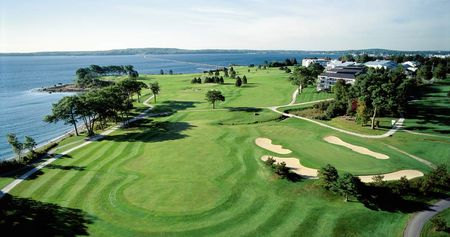 Overview of golf course named Samoset Resort