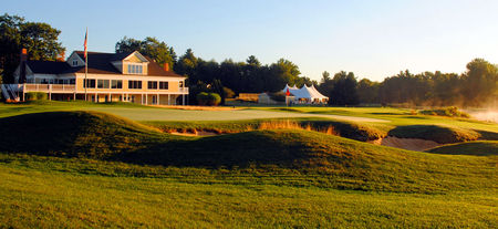 Overview of golf course named Falmouth Country Club