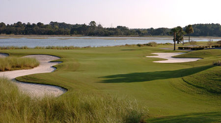 Overview of golf course named Oak Point at Kiawah Island Resort