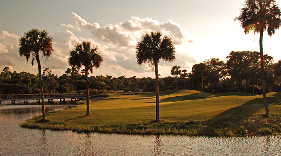 Overview of golf course named Osprey Point Golf Course at Kiawah Island Resort