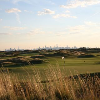 Trump national golf links ferry point cover picture