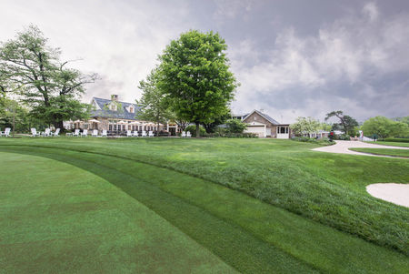 Overview of golf course named Chevy Chase Club