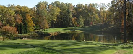 Overview of golf course named Bethesda Country Club