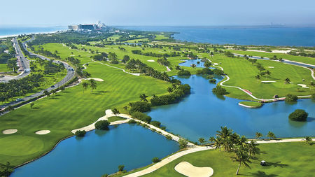 Overview of golf course named Puerto Cancun Golf Club
