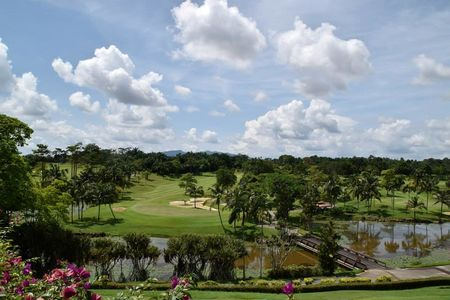 Overview of golf course named Palm Resort Golf and Country Club