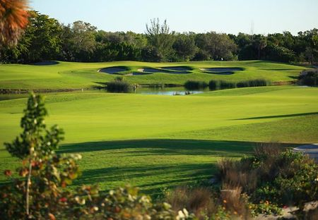 Overview of golf course named Hammock Bay Golf Course