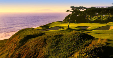 Overview of golf course named Olympic Club - The Ocean