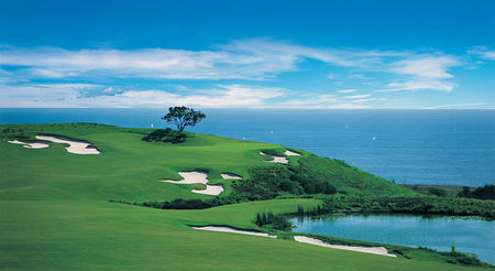 Overview of golf course named Pelican Hill Golf Club - Ocean North