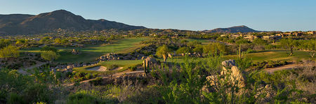 Overview of golf course named Desert Mountain Golf Club - Apache
