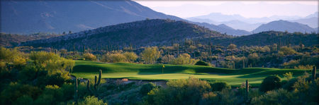 Overview of golf course named Desert Mountain Golf Club - Geronimo