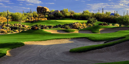 Overview of golf course named Troon North Golf Club - Pinnacle Course