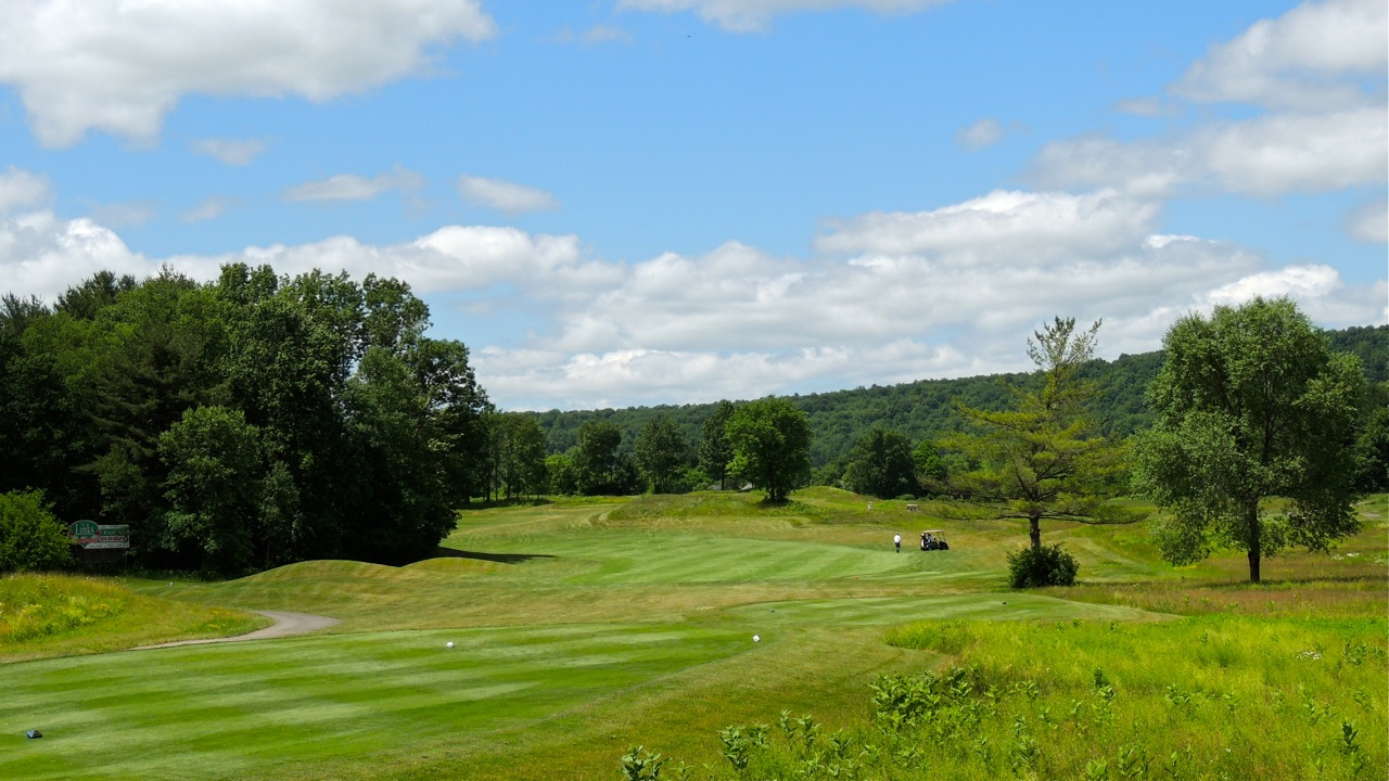 Overview of golf course named The Links at Hiawatha Landing