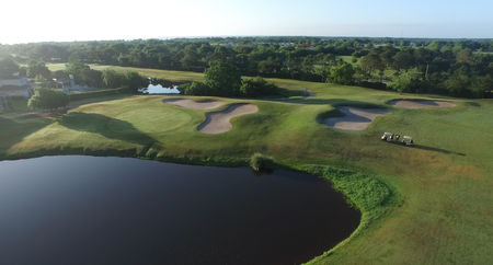 Overview of golf course named Kissimmee Bay Country Club