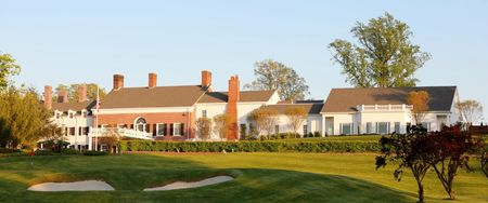 Overview of golf course named Old Westbury Golf and Country Club
