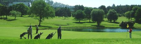 Overview of golf course named Axis Golfe Ponte de Lima