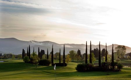 Overview of golf course named Golf and Country Club Le Pavoniere