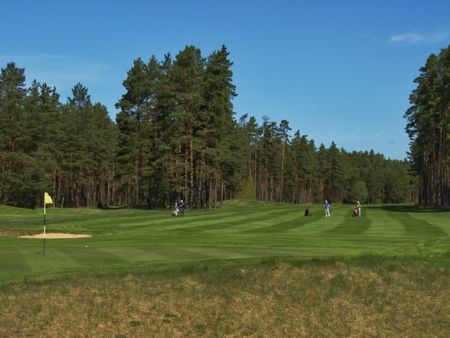 Overview of golf course named Golfs Viesturi