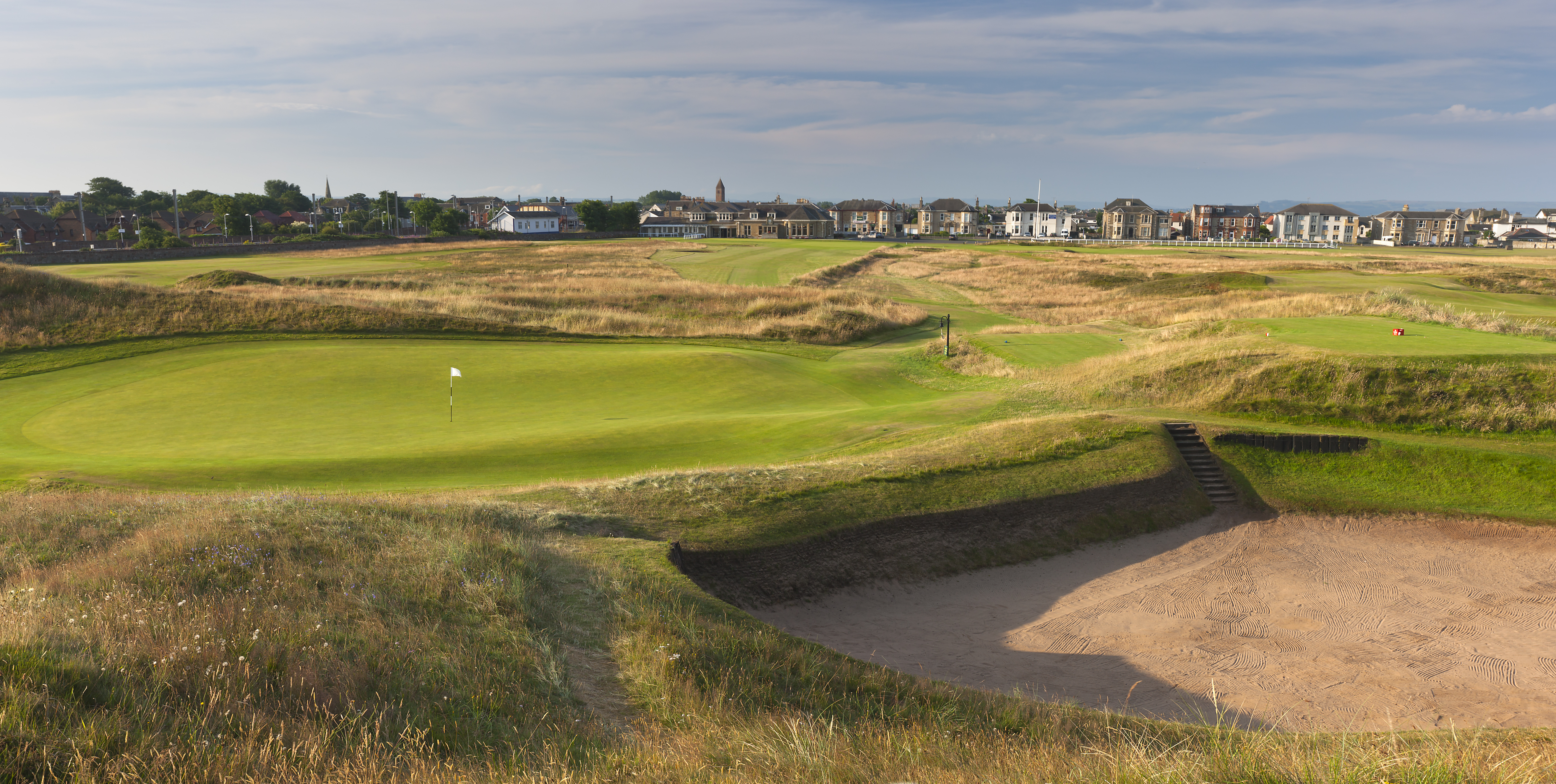 Overview of golf course named Prestwick Golf Club