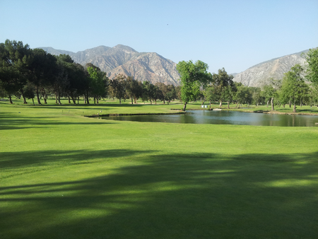 Overview of golf course named El Cariso Golf Course