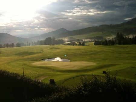 Overview of golf course named Appenzeller Gonten Golf Club