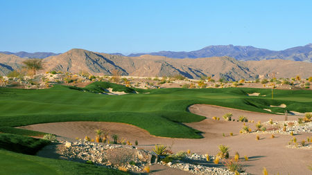 Overview of golf course named PGA Village at Coyote Springs