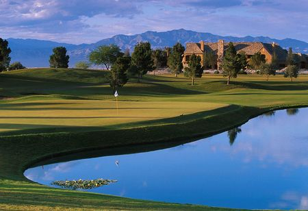 Overview of golf course named TPC Summerlin