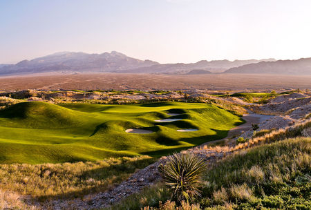 Overview of golf course named Rio Secco