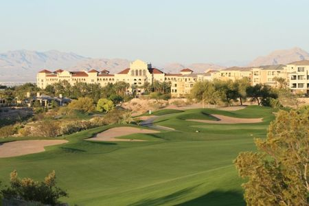 Overview of golf course named Tpc Las Vegas
