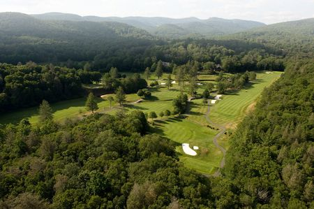 Overview of golf course named Linville Golf Club