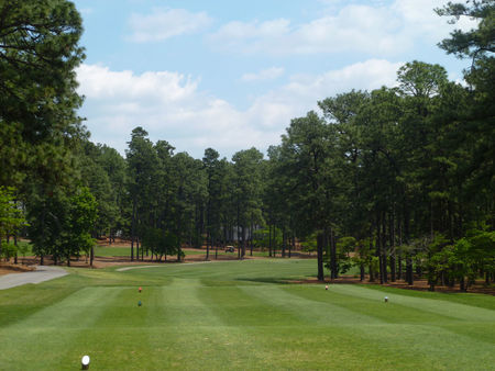 Overview of golf course named Mid Pines Inn and Golf Club