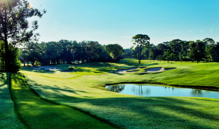 Overview of golf course named Innisbrook Resort and Golf Club - The Copperhead