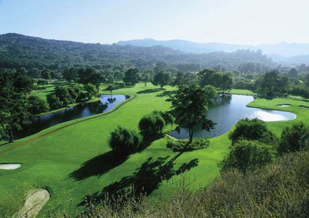 Overview of golf course named Quail Lodge Golf Club