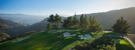 Overview of golf course named Tehama Golf Club