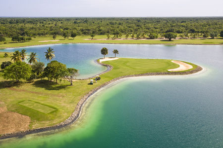 Overview of golf course named Catalonia Caribe Golf Club