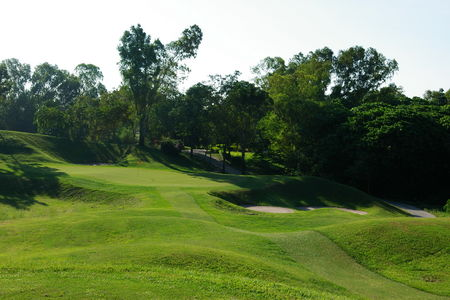 Overview of golf course named The Emerald Golf Club