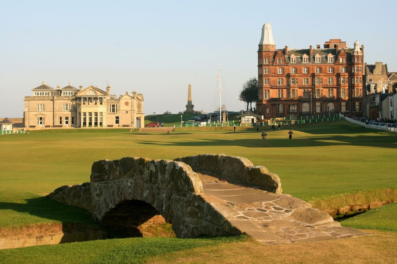Cover of golf event named Jouez le Old Course Saint Andrews