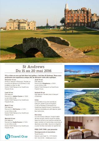 Preview of album photo named Séjour à Saint Andrews organisé par Travel One