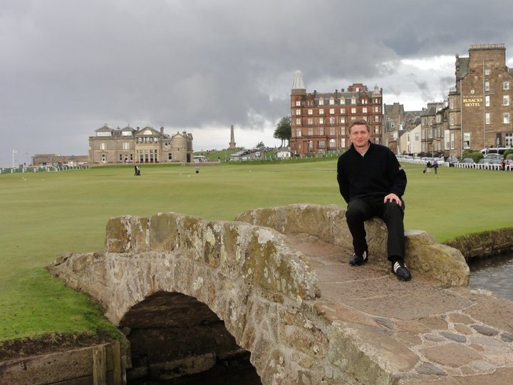 Avatar of golfer named Lionel Bard