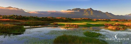 Cover of golf event named South African Inaugural Championship