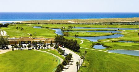Overview of golf course named Salgados Golf