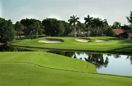 Overview of golf course named Boca Greens Country Club