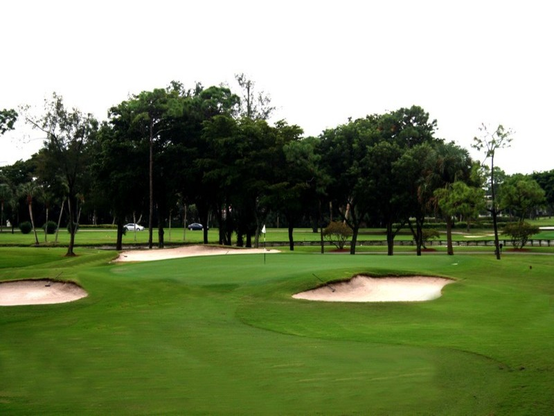 Overview of golf course named Boca Lago Country Club