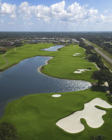 Overview of golf course named Sanlan Golf Course